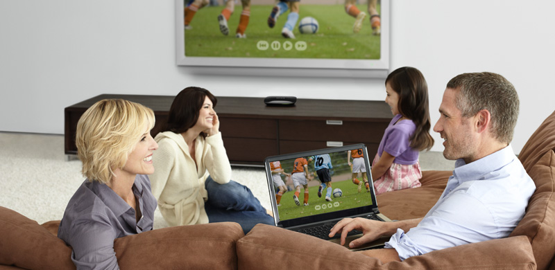 Belkin screencast view content from laptop to your HDTV wirelessly