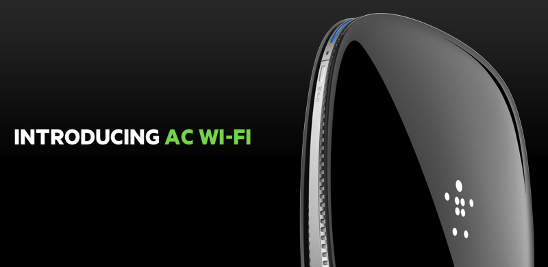 Introducing AC WIFI